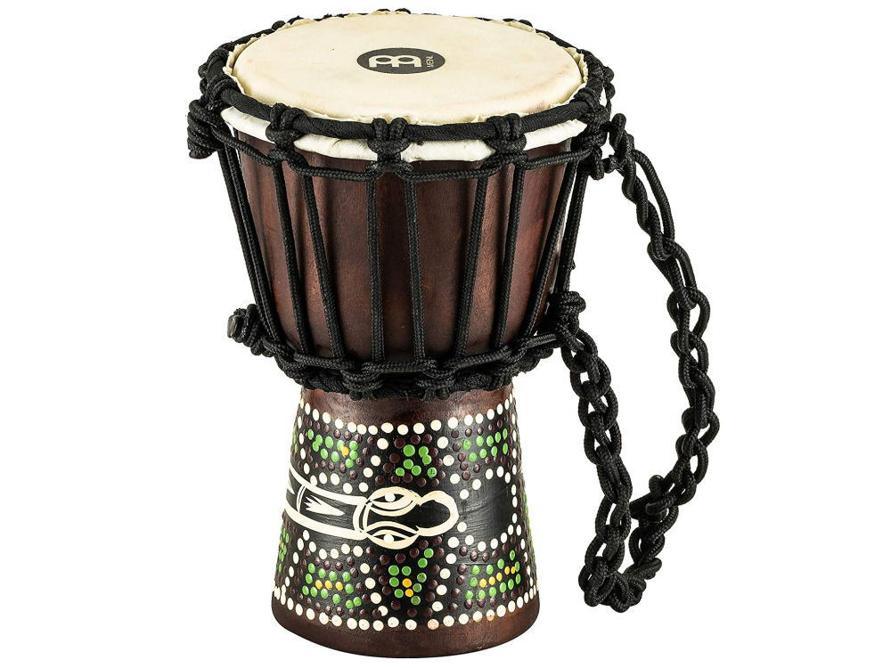 【送料無料】MEINL Percussion マイネル ミニジャンベ African Style Mini Djembe HDJ6-XXS Dark Serpent Design